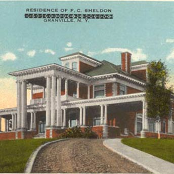 Sheldon Mansion cira 1906